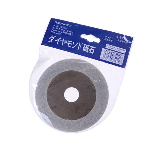 100mm 4'' Glass Stone Grinding Cutting Tool Diamond Coated Flat Wheel Disc CL