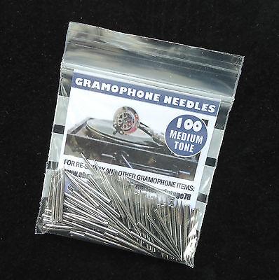 100 Loud tone 100 medium tone Soundgen/'s Gramophone needles 2  packs of 100