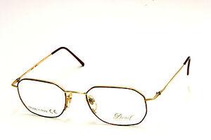 Occhiale Da Vista / Eyeglasses Vintage Desil Merida 3 73 - Laminato Oro 14 Kt. dFAHy