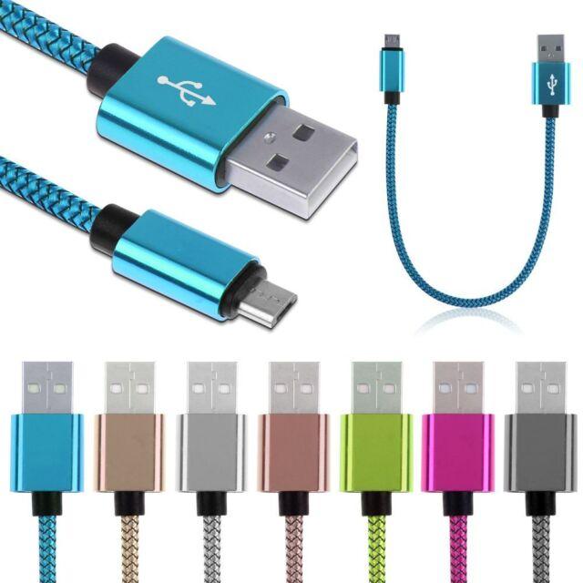 25cm Corto Micro Cargador USB Cable Carga De Datos para Teléfono Cellular Movil