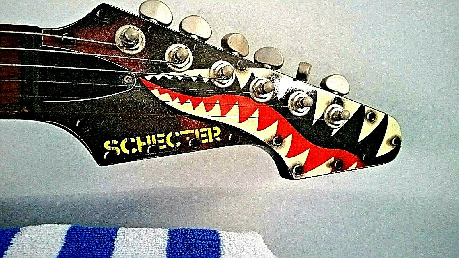 Guitar Schecter Flying Tiger Aviation Series 2004 BRAND NEW