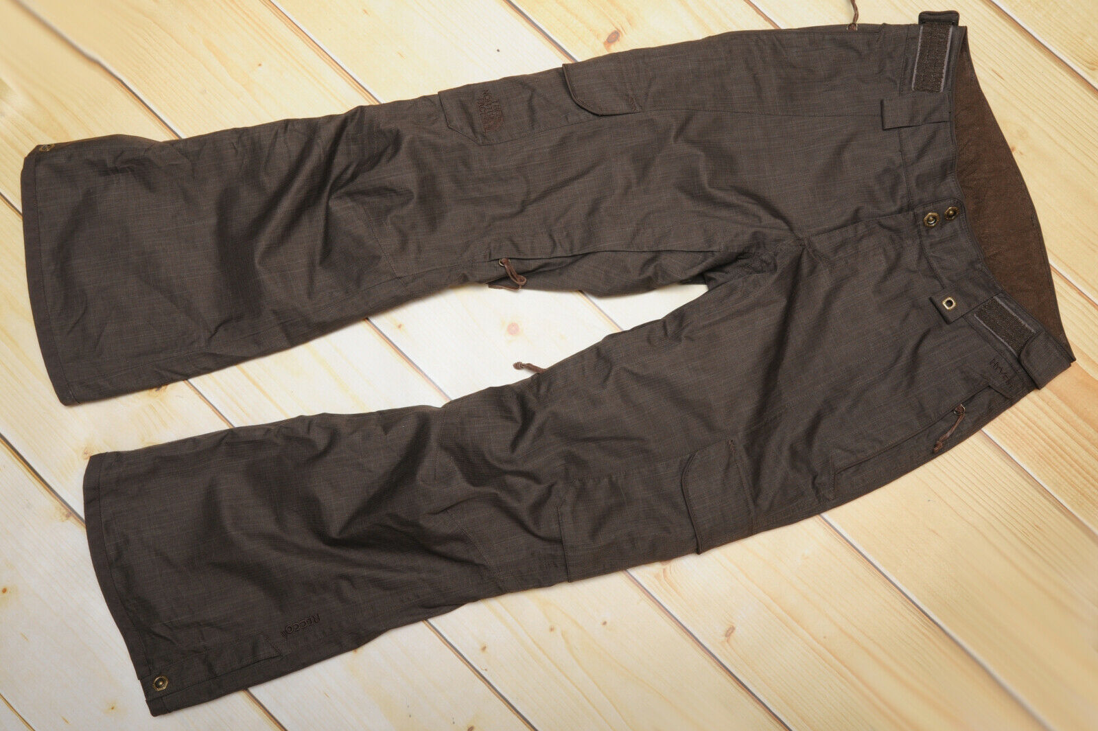 THE NORTH FACE CRYPTIC RECCO PANT ski insulated WOMEN'S BROWN TROUSERS - XS