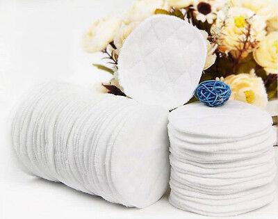 10X Cozy Nursing Breast Pads Washable Absorbent Feeding Breastfeeding FTUK