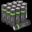 miniature 53 - Rechargeable Haute capacité AAA/AA Batteries Et 8-Way dock de chargement-Venom