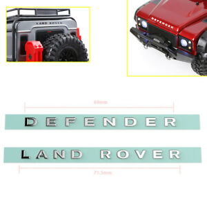 Metal-Decal-Logo-Adhesives-Sticker-for-TRX-4-RC-1-10-4WD-D90-D110-Crawler-Buggy