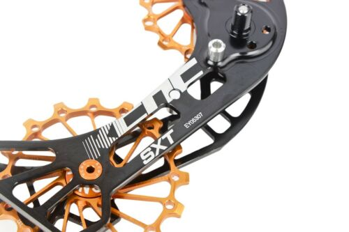 KCNC SXT MTB Bicycle Bike Oversize Pulley Wheel Cage for Shimano XT M8000 Gold