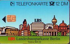 S 91 / 1993 - Landesbausparkasse Berlin LBS  -  TK 12 DM  leer