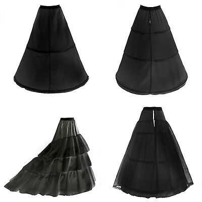 3 Ringe zur Auswahl Reifrock Petticoat Unterrock Gr.32-58 mit 2 od