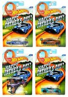2015 Hot Wheels Happy Father's Day Kmart Kroger Set Of 4 1:64 Diecast Vehicles