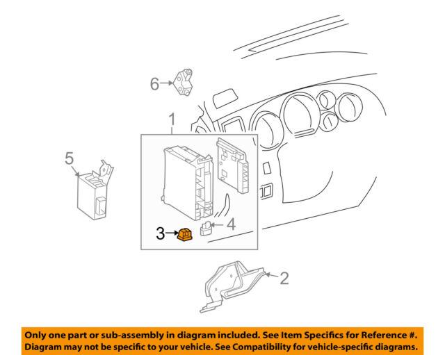 Upper Genuine Hyundai 91213-29101 Relay and Fuse Box Cover