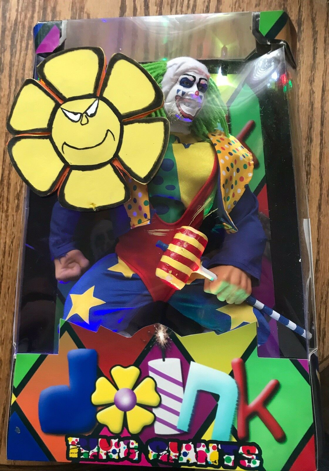 WWE WWF Custom Doink The Clown Ring Giant Classic Superstars MAKE AN OFFER