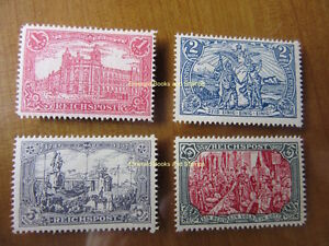 EBS-Germany-1900-034-Images-of-the-German-Empire-034-set-Michel-63-66-REPRINTS