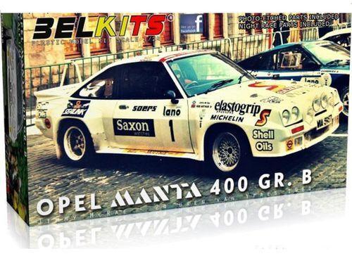 BELKITS OPEL MANTA 400 GR.B 1984 1 24 BEL009