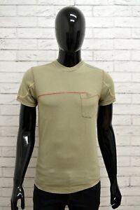 Maglia-ENERGIE-Uomo-Taglia-Size-XS-Maglietta-Shirt-Man-Cotone-Manica-Corta-Slim