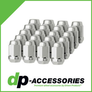 1 Cone Seat Chrome 9//16-18 Closed End XL Bulge Acorn Lug Nut DPAccessories D3313-2305 One 3//4 Hex Wheel Lug Nut