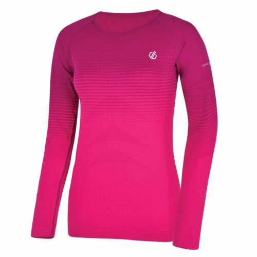 Dare 2b Women/'s In The Zone Long Sleeved Performance Base Layer Top Pink