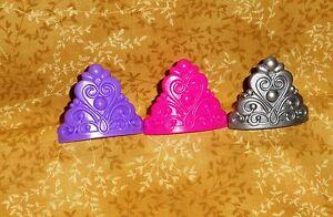 crown princess cupcake ring plastic decopac bright