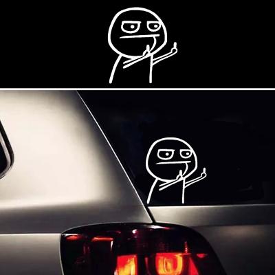2x Tv Show Cartoon Funny Kid Express Vynil Car Truck funny car bumper decal Gift