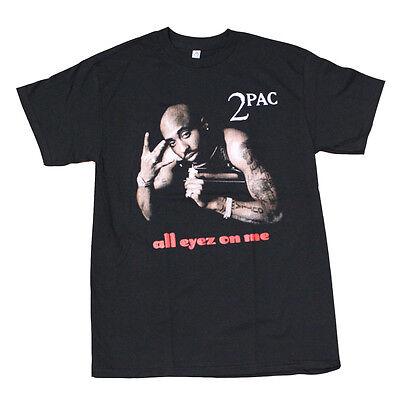 2PAC all eyes on me Men's T-Shirt Black