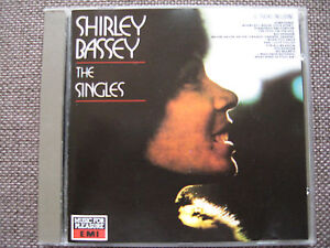 Shirley-Bassey-The-Singles-16-Songs-EMI-UK-label-CD-1988-Imported