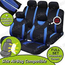 Carnaby Bleu Grillage Noir Coté De Voiture Airbag EN ORDRE