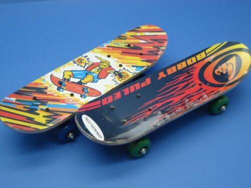 cc Skateboard Skate In Legno Varie Fantasie Colorato Bambini Ragazzi 62cm dfh