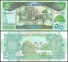 Somaliland 5,000 (5000) Shillings, 2015, P-21, UNC