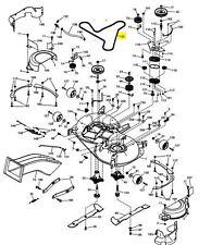 KEVLAR CUTTER Deck DRIVE BELT HUSQVARNA cth184, cth194 / JONSERED / MCCULLOCH