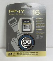 Pny 16gb Sdhc Elite Performance Memory Card - P-sdh16u1h-ge