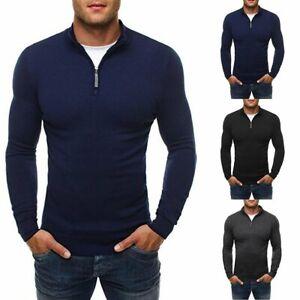 Men-Winter-Slim-Hoodie-Warm-Sweatshirt-Coat-Jacket-Outwear-Sweater-Jumper
