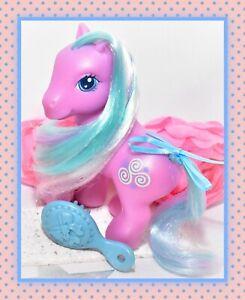 ❤️My Little Pony MLP G3 Toola-Roola I Rainbow Celebration Purple Blue Swirls❤️