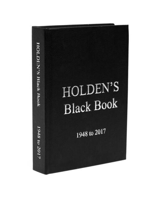 Holden's Black Book covers 48 to VF, Torana, Gemini, Commodore, Camira