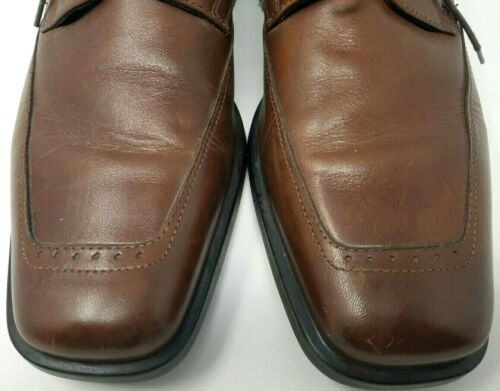 cuir brun Chaussures semelle 8 avec Active mors en Flex JohnstonMurphy Oxford habillées Sz erdCBxo