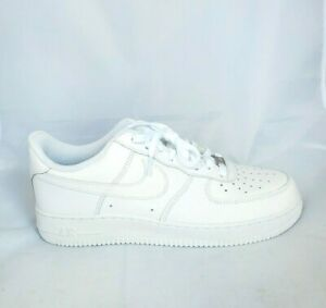 Details about Nike Air Force 1 07 LE Low All Triple White 315122-111 Men's  Size 8