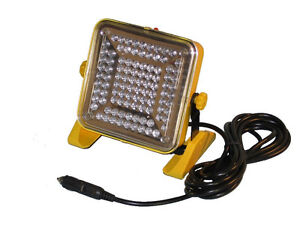 Portable Work Flood Trouble Light Led Lamps Alert Stamping
