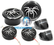 Black Soundstream TWS.3 1-Inch 110-Watt PEI Dome Tweeters