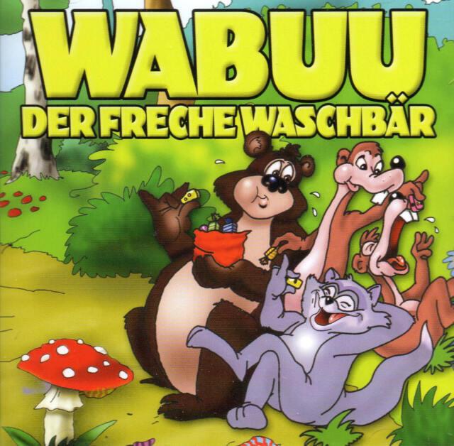 WABUU - Der freche Waschbär - CD -  Hörspiel - NEU