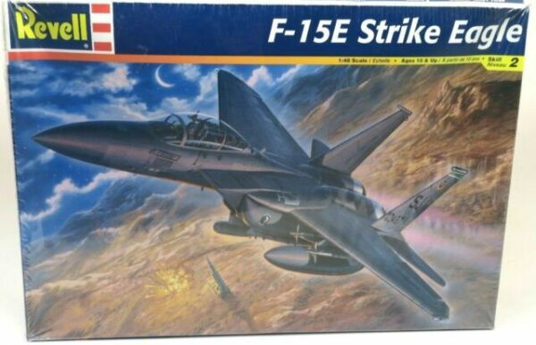 show original title Details about  /Model set f-15e eagle revell hobby kit 1:144 miniature rv63996