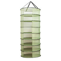 Vivosun 2ft 8 Layer Collapsible Herb Drying Rack Net Hydroponic Hanging Dryer