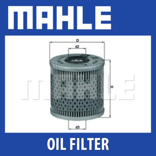 BMW MAHLE Filtre à huile ox91d