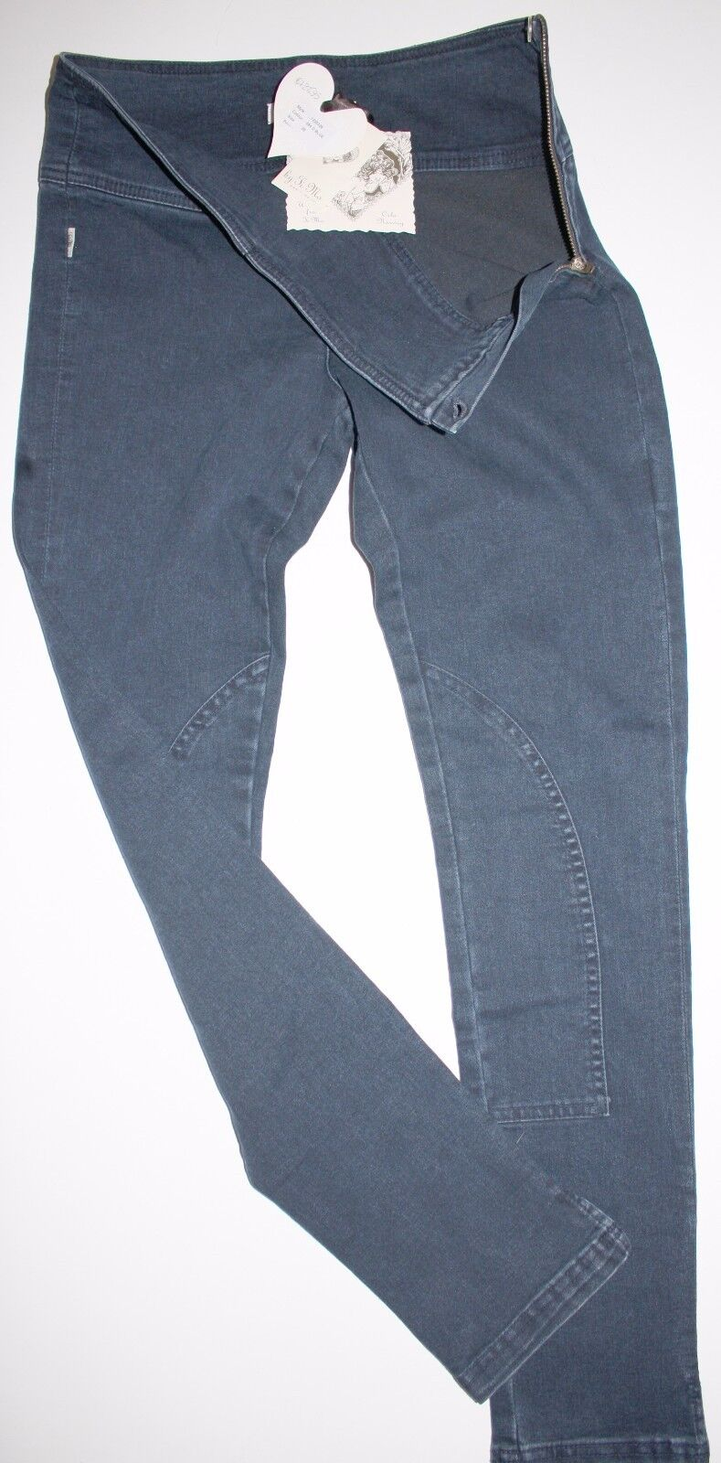 By Ti Mo Leggings Leggings Jeggings Jeans Stretch Skiny bluee  Size  29  Neu