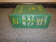 John Deere 350c Crawler Loader Bulldozer Shop Service Repair Manual Tm1115
