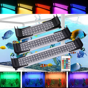 25-55CM-LED-Fish-Tank-Light-Aquarium-RF-Remote-Control-Extendable-Bracket-Lights