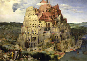Pieter Brueghel [The Tower of Babel] 1000 pcs Jigsaw puzzles TOMAX Art Deco Home