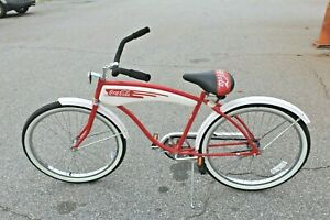 Vintage-Coca-Cola-Huffy-Bicycle-1980-039-s-Promotional-Bike-Made-in-the-USA