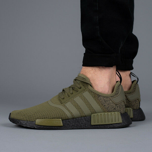 adidas Originals NMD R1 Aq1246 Olive Green/black US Europe Colorway 9.5 | eBay