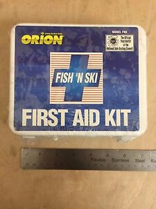 Just Expired Orion 963 Fish n Ski First Aid Kit