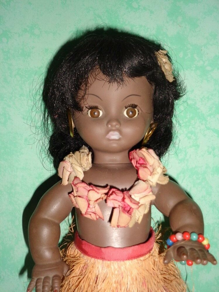 Bambola bimba hawaina  bella  made in france