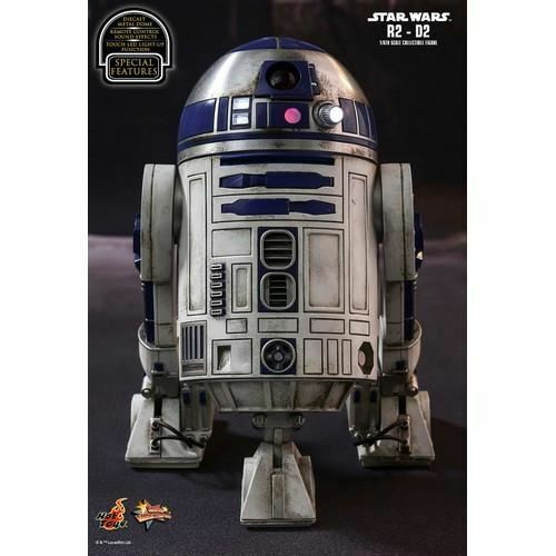 1/6 Scale Star Wars The Force Awakens R2-D2 R2D2 Figure MMS408 Hot Toys