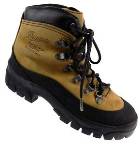 Danner Combat Hiker Mens Boots Size 5 Brown Leather Crater